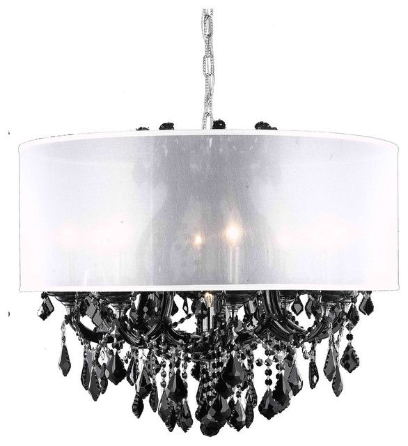 Dining Room Chandeliers Traditional: Dining Room Chandelier Black