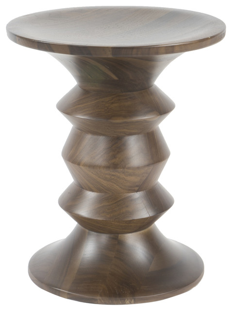 Spindle C, Side Table, Walnut