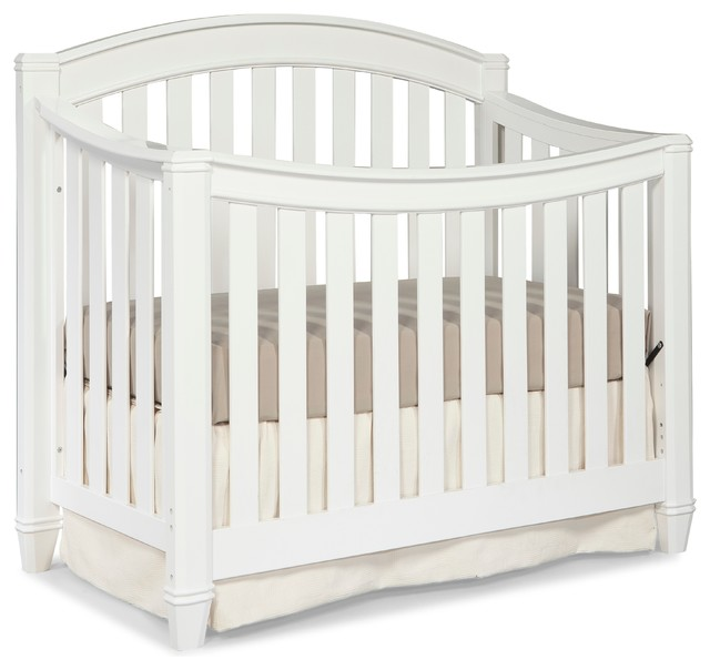 Charmant Thomasville Kids Highlands 4 In 1 Convertible Crib, White