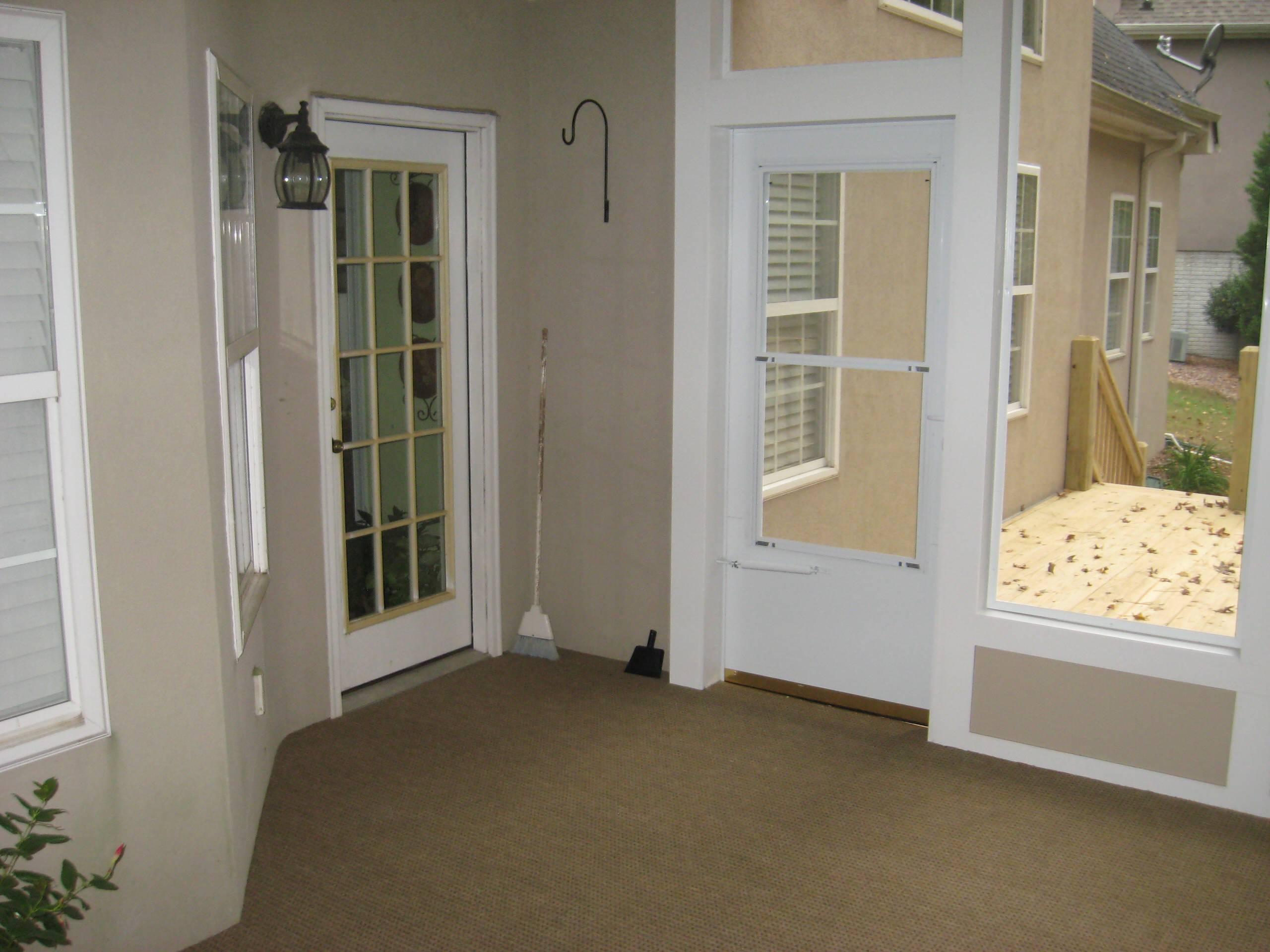 Sunroom and Porch Addition