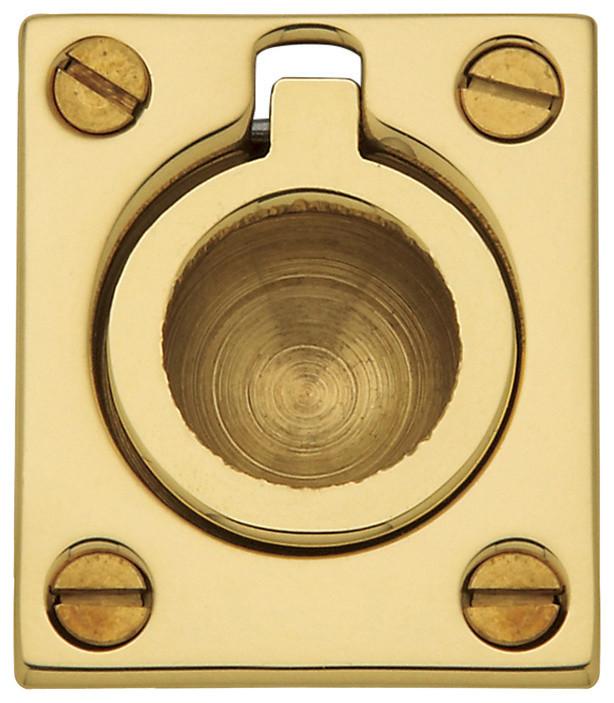 Lifetime Brass Top Notch Distributors Inc. Baldwin 0195003 Ring Door Knocker Home Improvement