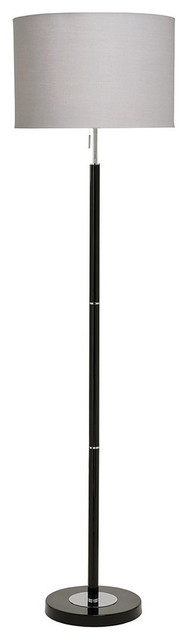 Madaline Floor Lamp, Black