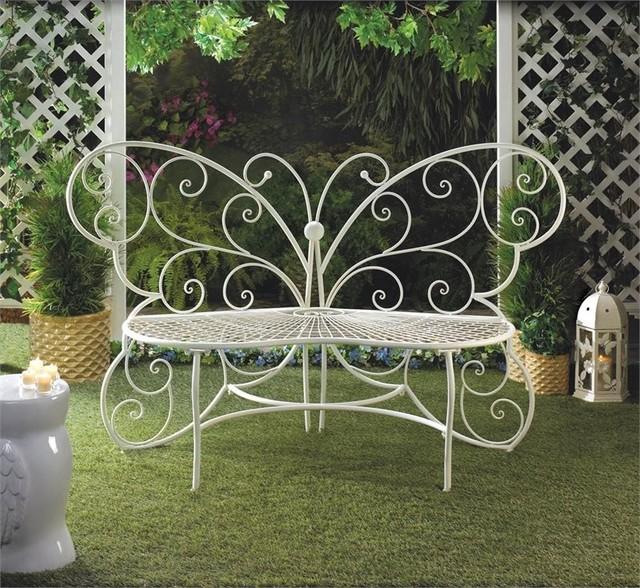 Butterfly Garden Bench.
