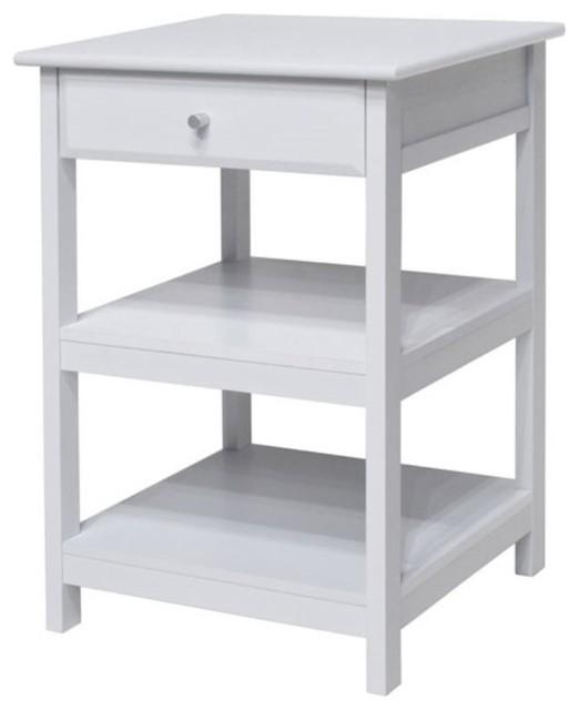 Delta Printer Stand, White.