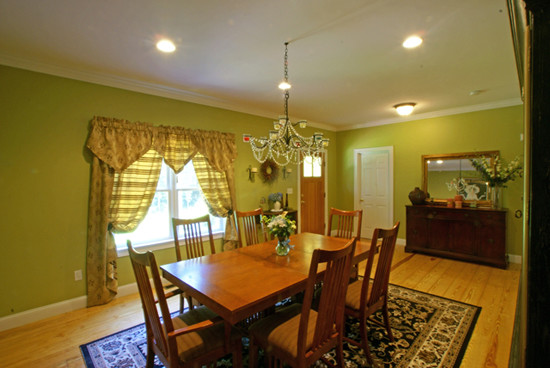Cummings Architects LLC, | New Homes traditional-dining-room