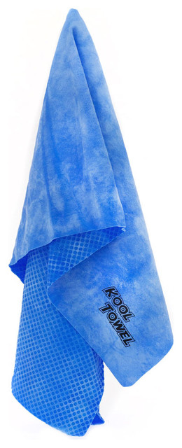The Kool Towel Chilly Pad Cooling Sports Towel For Outdoor Activity, Set Of 5.