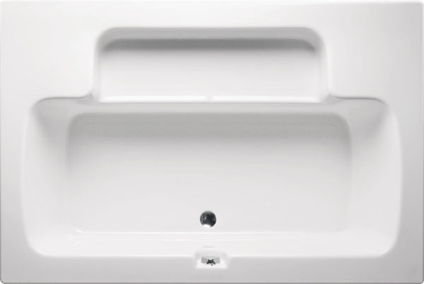 Bahia, Tub Only, White.