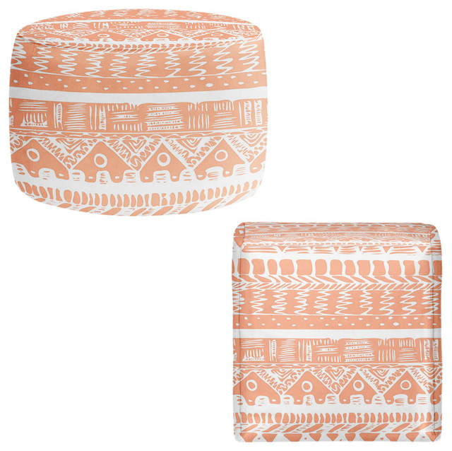 DiaNoche Pouf Chair Foot Stool By Organic Saturation