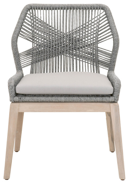Loom Outdoor Dining Chair, Set of 2