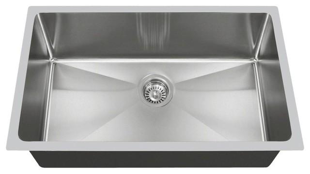 3120s undermount single bowl stainless steel kitchen sink 14 gauge modern  kitchen sinks 3120s undermount single bowl stainless steel kitchen sink   modern      rh   houzz com