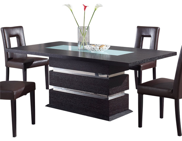 Global Furniture Usa G072dt Rectangular Dining Table In Wenge