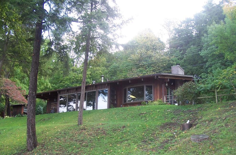Diseño de diseño residencial contemporáneo de tamaño medio