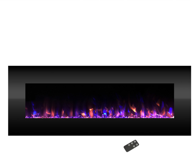 "Electric Color Changing Fireplace, Wall Mounted 54"" By Northwest."