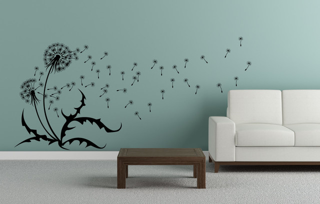 Charmant Dandelion Wall Decal   Left Contemporary Wall Decals