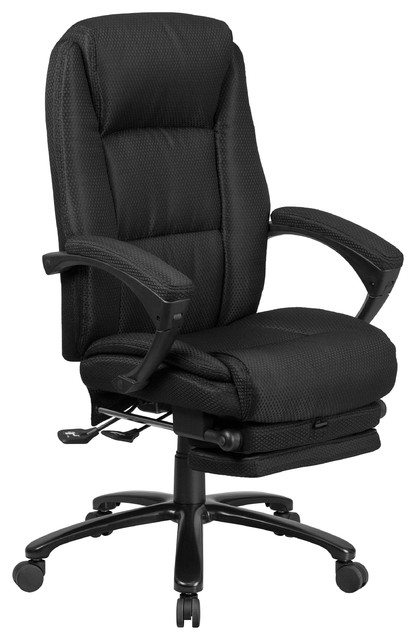 Fabulous High Back Fabric Executive Reclining Swivel Office Chair With Comfort Coil Pdpeps Interior Chair Design Pdpepsorg