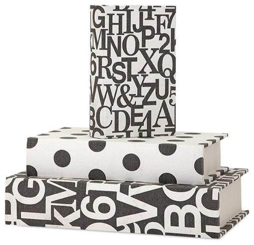 Margie Book Boxes, 3-Piece Set