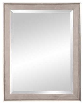 Natalia Wall Mirror, Light Silver, 30 X 42.