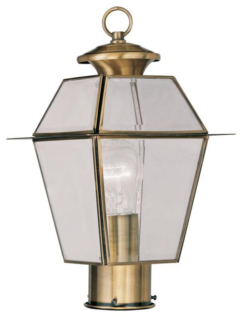 Shop Houzz Livex Lighting Inc Livex Lighting 2182 Outdoor Lighting Post Li