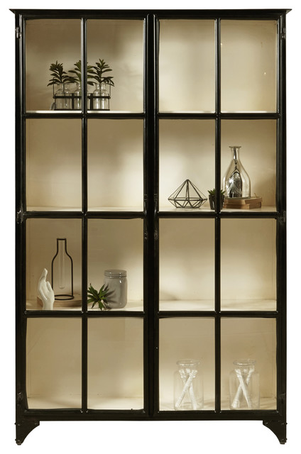 Lexington Iron Display Cabinet