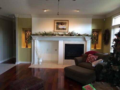 Mantel and fireplace advice??