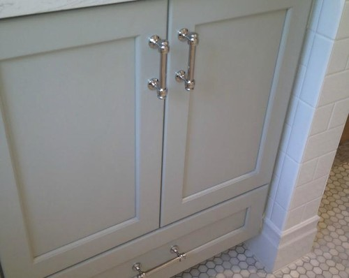 My Bathroom Is Nearing Completion And I Still Canu0027t Find Out Who Makes  This Cabinet Pull Handle Any Help Greatly Appreciated Thanks