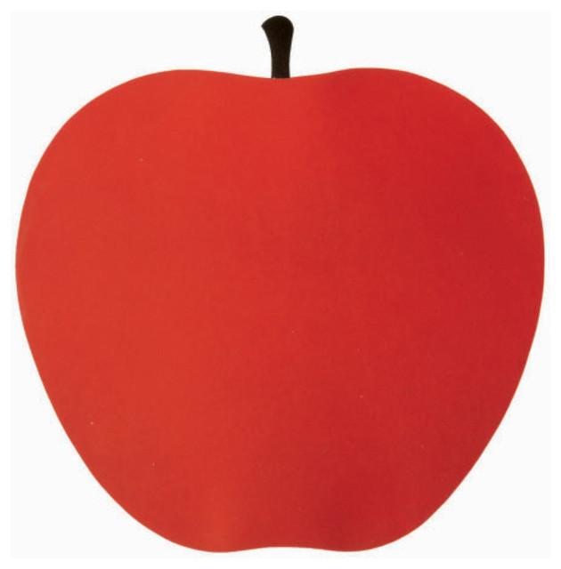 Danese Milano by Enzo Mari, La Mela, Red Apple Poster 1963