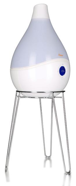 Smart Drop Ultrasonic Mist Humidifier, White.