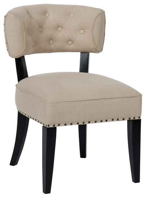 Noir Furniture Noir Furniture Alena Chair Hand Rubbed Black View In Your Room Houzz