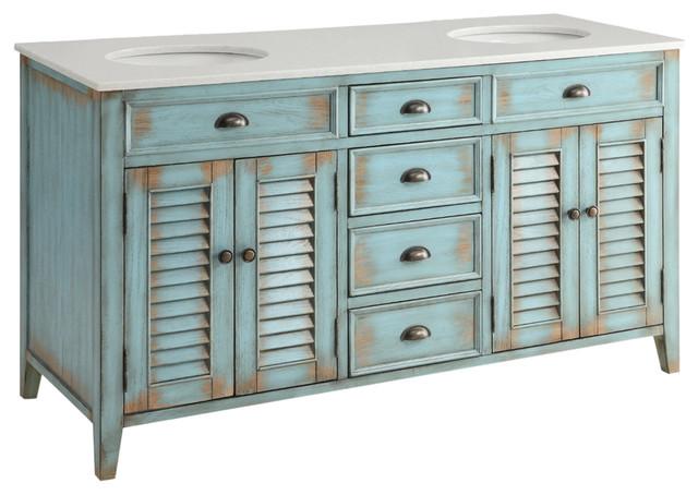 Cottage Bathroom Sink Cabinets
