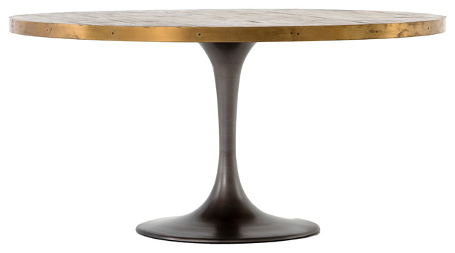 Hughes Evans 60 Oval Dining Table Tables By The Khazana Home Austin Furniture