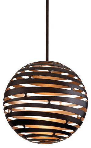 Corbett Lighting 138-43 Tango 1 Light Led Globe Pendant.