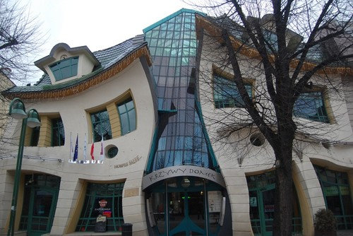 The Crooked House -Sopot, Poland