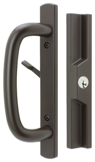 Veranda Sliding Door Handles With Lock Keyed 1 3 4