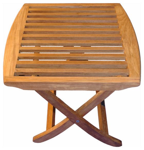 Astonishing Teak Salisbury Foot Stool End Table Ocoug Best Dining Table And Chair Ideas Images Ocougorg