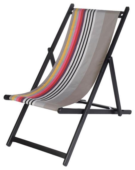 Java UV-Resistant Deckchair Sling, Rainbow