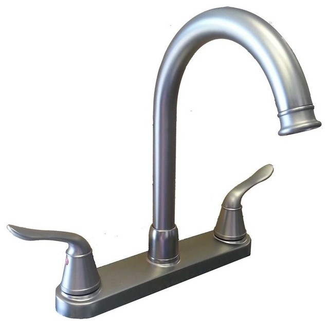 Banner 8 Quot Centerset Kitchen Faucet With Side Spray Chrome