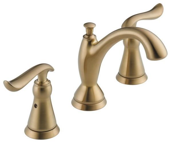 Delta linden widespread bathroom faucet 3594 mpu dst - Delta contemporary bathroom faucets ...