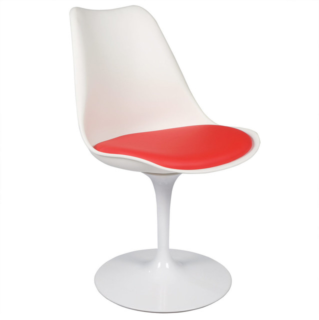 White Tulip Chair With Red Cushion Asian Dining Chairs  : asian dining chairs from www.houzz.com size 638 x 640 jpeg 27kB