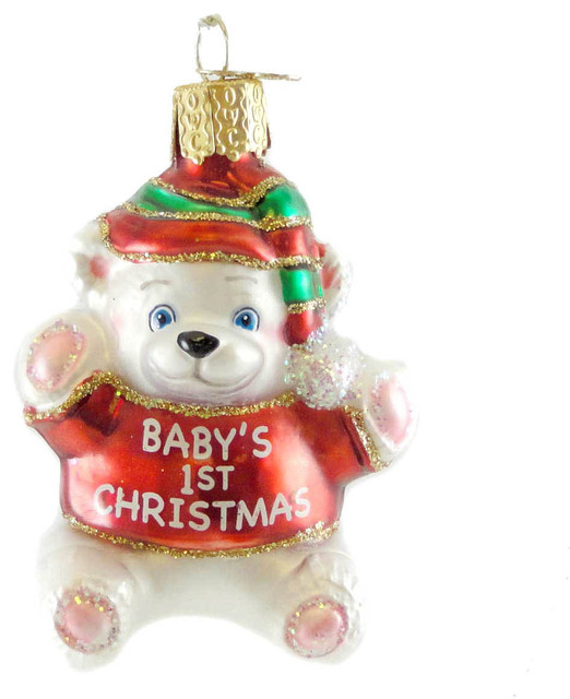 Old world christmas old world christmas babys 1st for Babys first christmas decoration