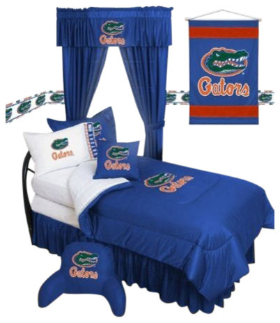 Sports coverage florida gators ncaa locker room complete for Gator bedroom ideas