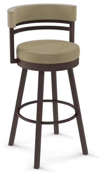 Artefac Round Swivel Stool With Metal Base Bar Stools