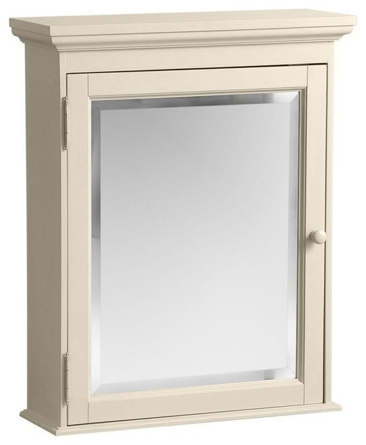Cottage Surface-Mount Medicine Cabinet, Antique White, 23-5/8