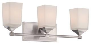 Designers Fountain Corbin Bathroom Lighting Fixture - Transitional - Wall Sconces - by Hansen ...