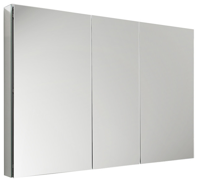 "Bathroom Medicine Cabinet With Mirrors, 50""x36""."