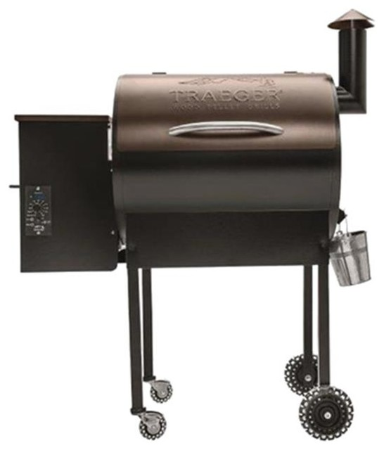 Lands End 20k Btu Bronze Pellet Grill.