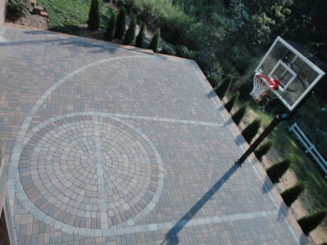 Paver Basketball Court Modern Other By Wildwood Land