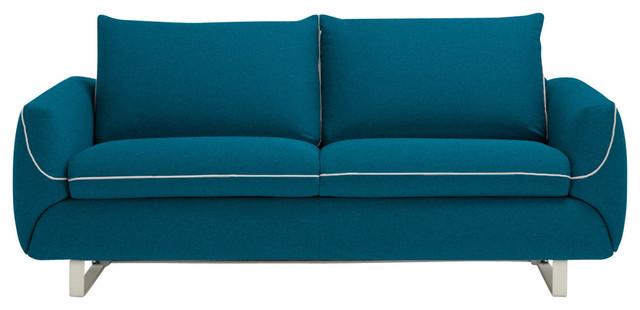 Pezzan USA LLC Maestro Modern Sofa Bed, Queen Size Mattress, Ocean ...