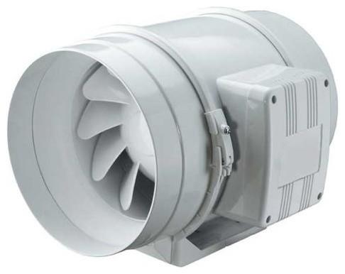 """Mft 6"""" Mixed Flow In-Line Fan, 252/167 Cfm."""