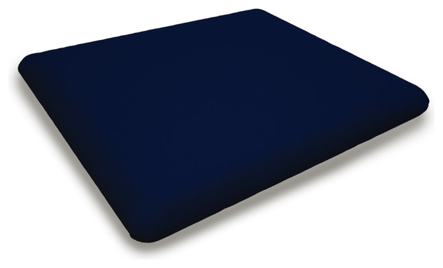 Fabric Seat Cushion in Navy