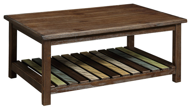Whitwell Country Style Coffee Table Farmhouse Coffee Tables By 1perfectchoice